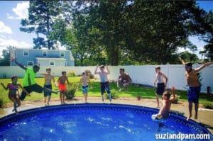 Autism pool party